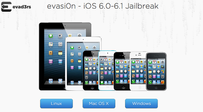 Evasion 1.1 update to Jailbreak iOS 6.1