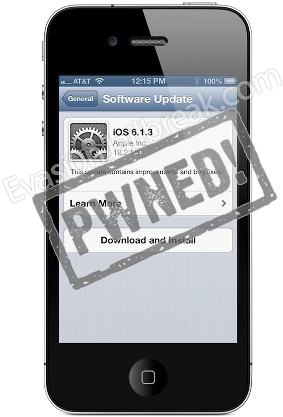 Jailbreak 6.1.3 IOS IPhone 4, 3GS And IPod Touch 4G Image