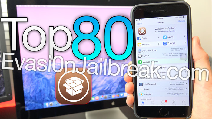 Top Cydia Tweaks iOS 8.4